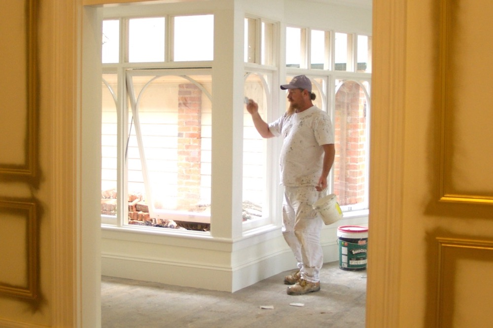 painting federation residential house in millthorpe nsw
